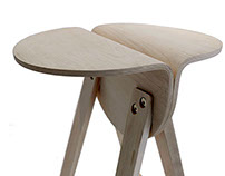 Split Tall Stool