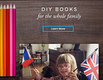 Blurb Blog Post and Email: Family Books