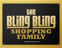 The Bling Bling Shopping Family