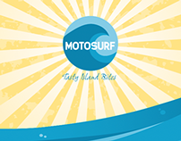 Motosurf Food Truck Wrap
