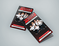 Martial arts School Brochure Design