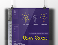 Open Studio Event Poster