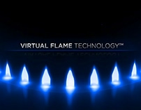 Samsung Induction Range with Virtual Flame