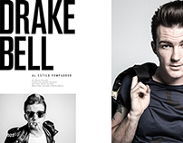 Drake Bell for Nylon Guys