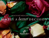 Health Net Ad Campaign & Direct Mail