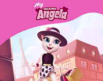 'My Talking Angela' animated shots