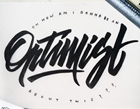 misc lettering