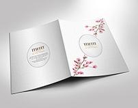 Magnolia Folder Design