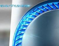 Samsung Air Purifier Bluesky