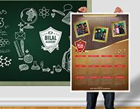 Bilal Academy 2015 Calendar