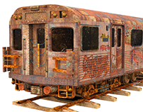 Subway Train Textured!