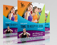 Fitness - GYM Flyer Template Vol.3