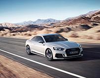 Audi RS5 - CGI animation & still