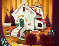 Little Golden Books - Hansel and Gretel