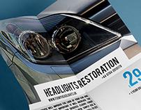 FixMyHeadlights Leaflet Design