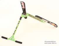Snowkick - mini Snowscoot (for snowpark)