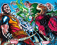 Marvel 75th Anniversary Sketchcards