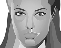 Portrait art Corel Draw