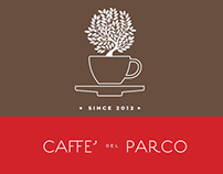 Caffè del Parco - Logotype, brand identity and website