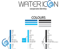 Water Icon Corporate Identity Brand Guide