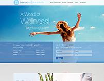 Balane Diet Web Design