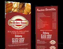 Flyer Delicias Amar