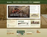 Remington.com Redesign Concept