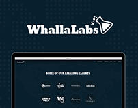 Whalla Labs - official website