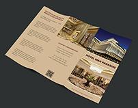 Hotel MAK Paradise Tri Fold Brochure