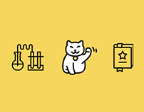 Иконки для интернет агенства Дикий Лид