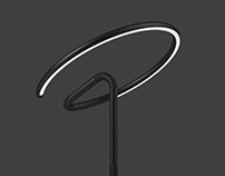 G - A desk lamp