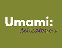 Umami Deli Menu - Design