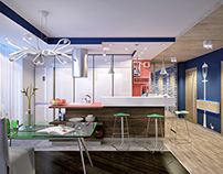 Apartment for young family with child.