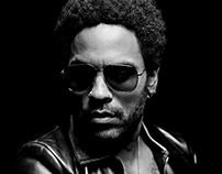 Lenny Kravitz for French Revue