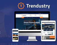 Trendustry WordPress Theme