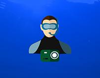 Yasar University Underwater Community Animation