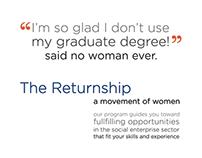 Returnship Ad Featured in Newsweek Magazine 12/26/14