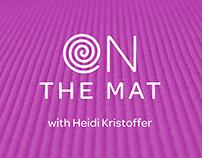 On the Mat Yoga Video Series Branding