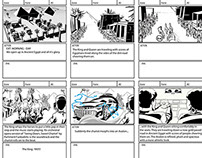 Toyota Avalon Storyboards