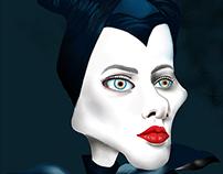 Anjelina Jolie from Maleficent