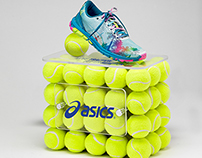 ASICS Tennis In-Store Promo 2014