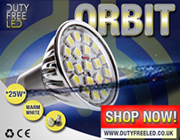 BRAND A LIGHT BULB: SIRIUS ORBIT