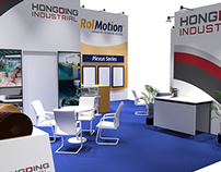 RolMotion/HongDing Booth Design