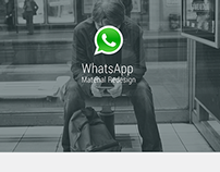 Whatsapp material redesign