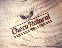 ChocoNatural - RawVegan Chocolate Branding Design