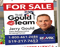 Gould Team-Re/Max Print Work