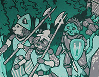 Robinhood Cats Mural