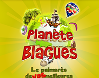 Planète Blagues / Jokes Planet v2 : iOS app