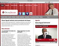 Website Oscar Aguad