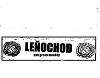 Design  for my band Leňochod a.k.a Green Monkey